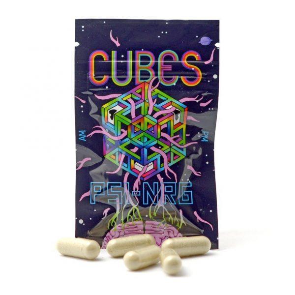 Cubes scoobie snacks mushroom capsules product